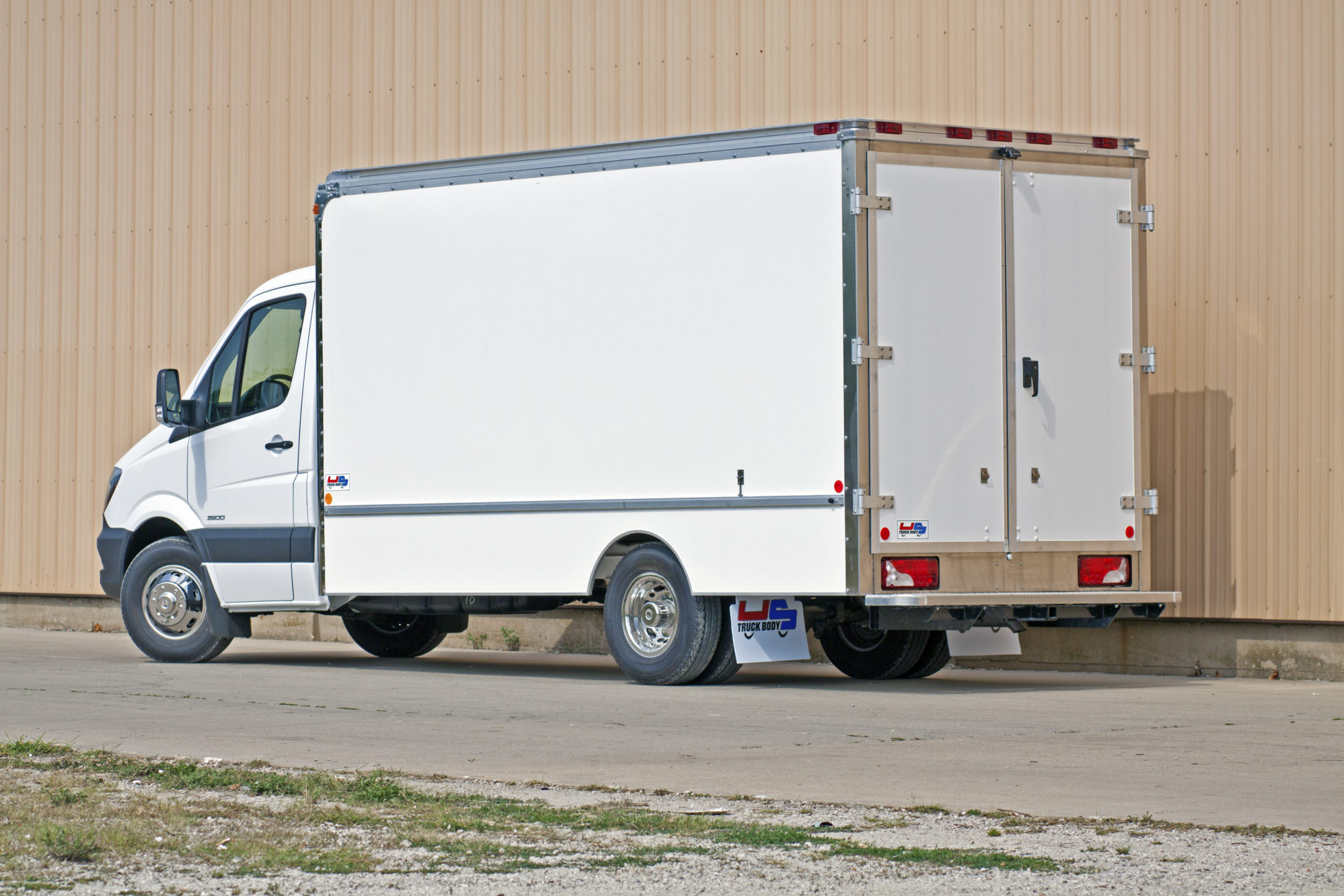 Side view of the Service Model Truck
